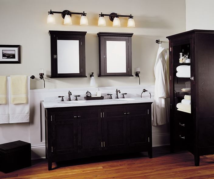 Bathroom Light Fixtures Images