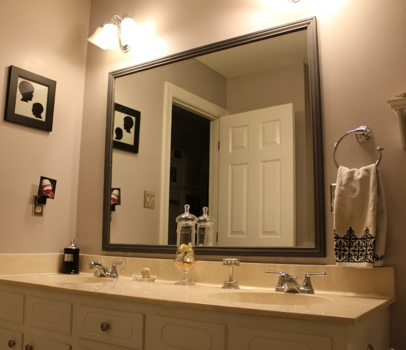 Bathroom Mirror Frames Ideas