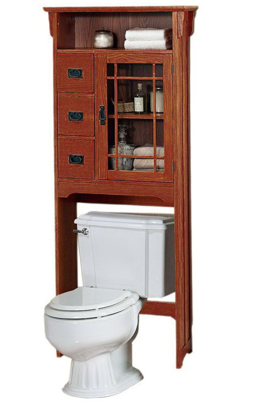 Bathroom Over The Toilet Cabinet
