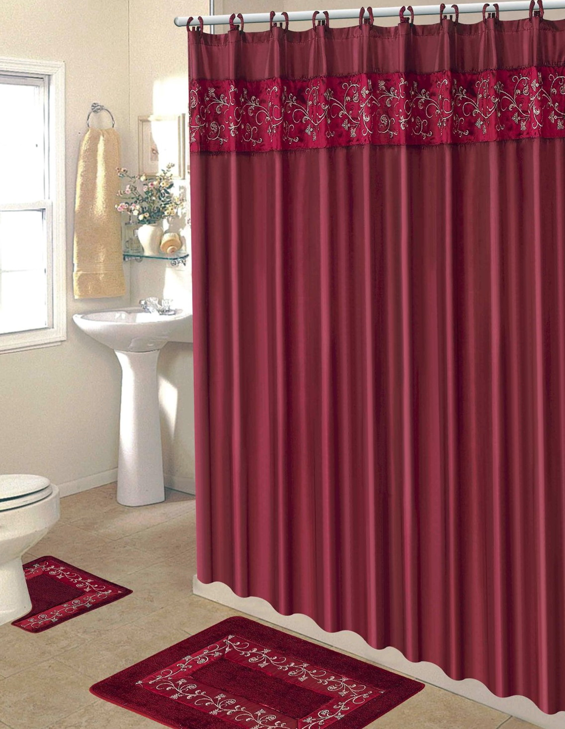 Bathroom Shower Curtains Sets