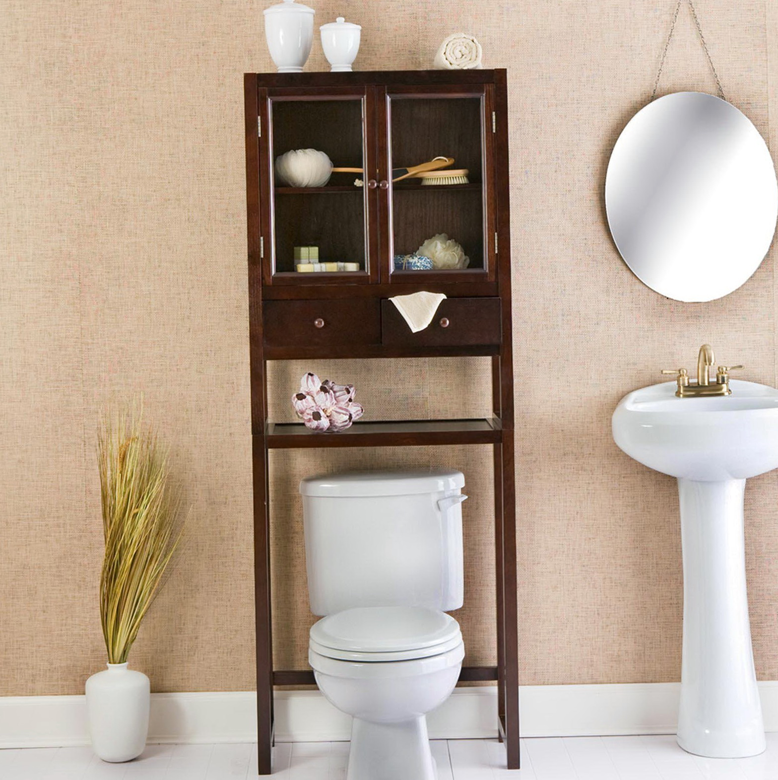 Bathroom Storage Cabinet Over Toilet
