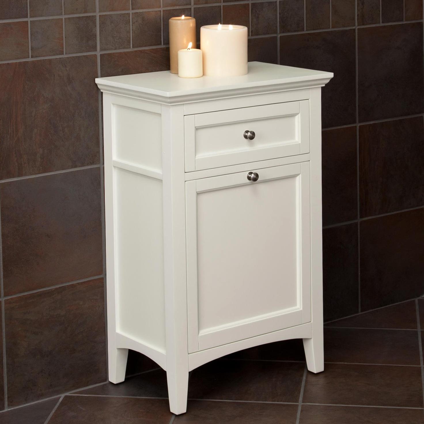 Bathroom Storage Cabinet With Hamper