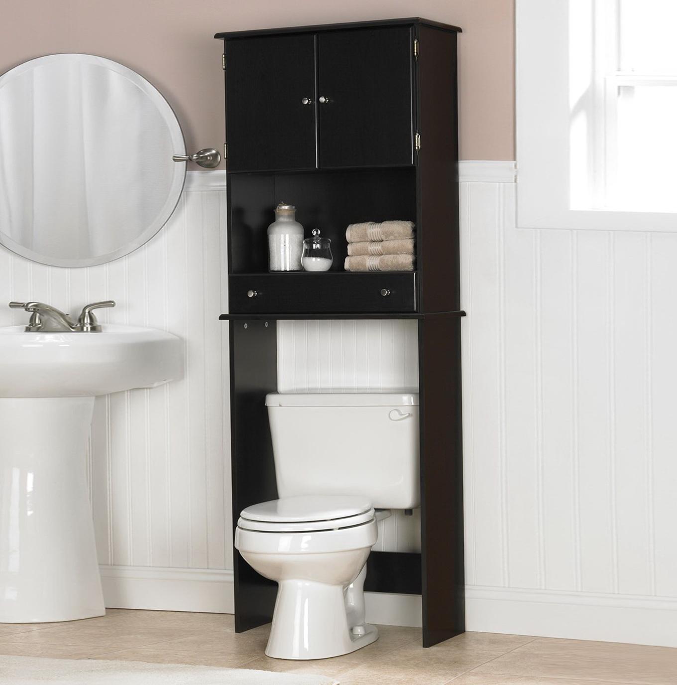Bathroom Towel Racks Over The Toilet