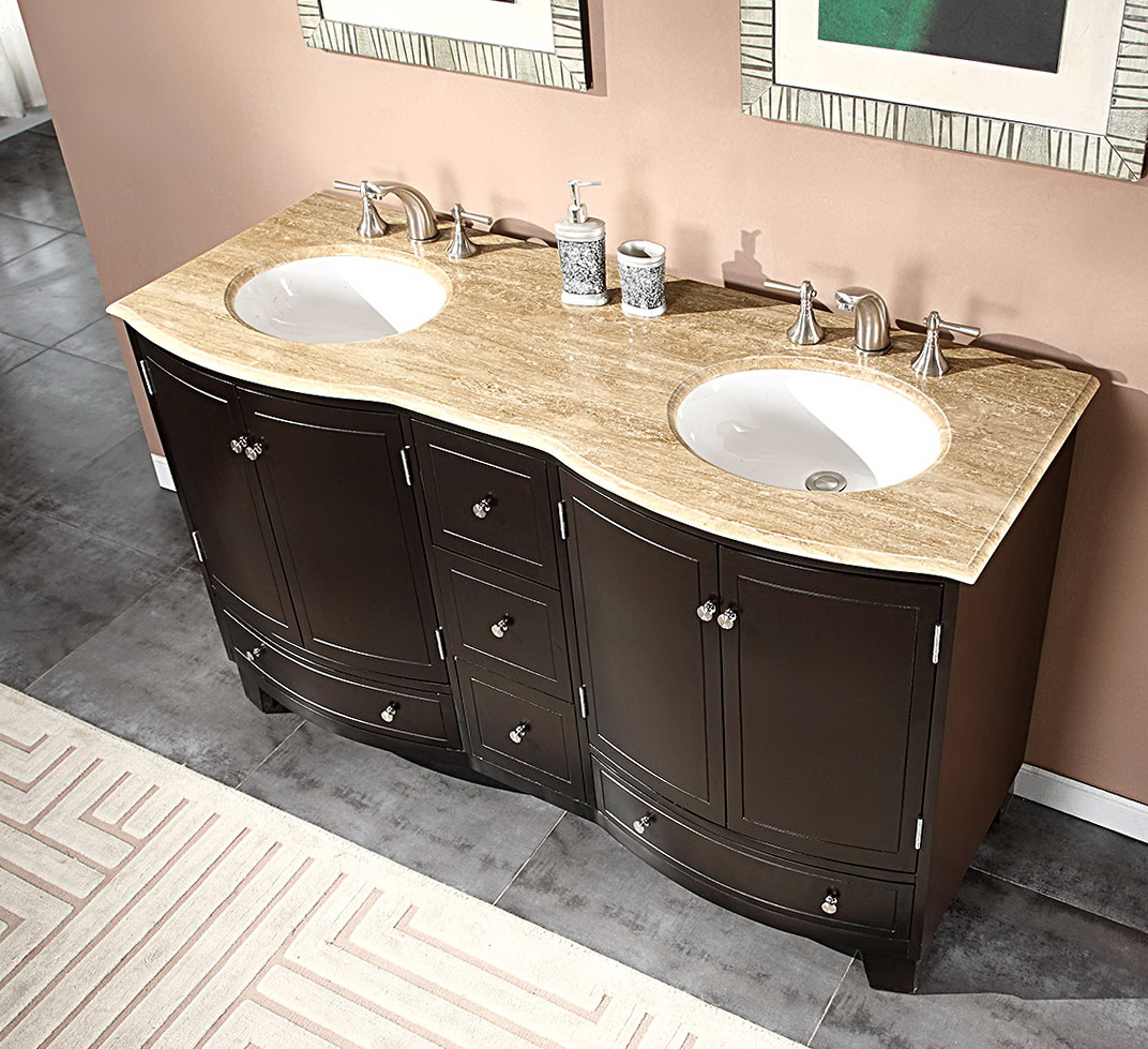 Bathroom Vanity Tops Double Sink
