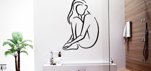 Bathroom Wall Decor Signs