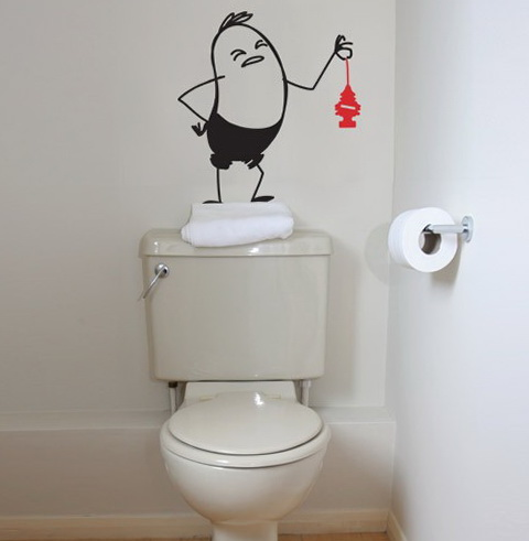 Bathroom Wall Decor Stickers