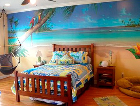 Beach Theme Bedroom For Girls