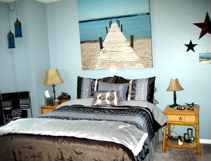 Beach Theme Bedroom Pinterest