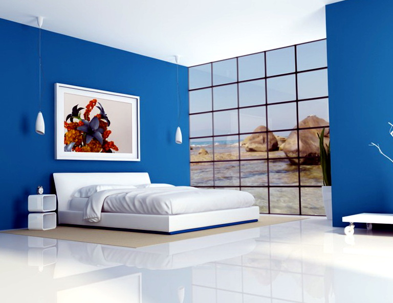 Bedroom Color Schemes Blue