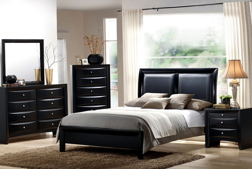 Bedroom Color Schemes With Black Furniture