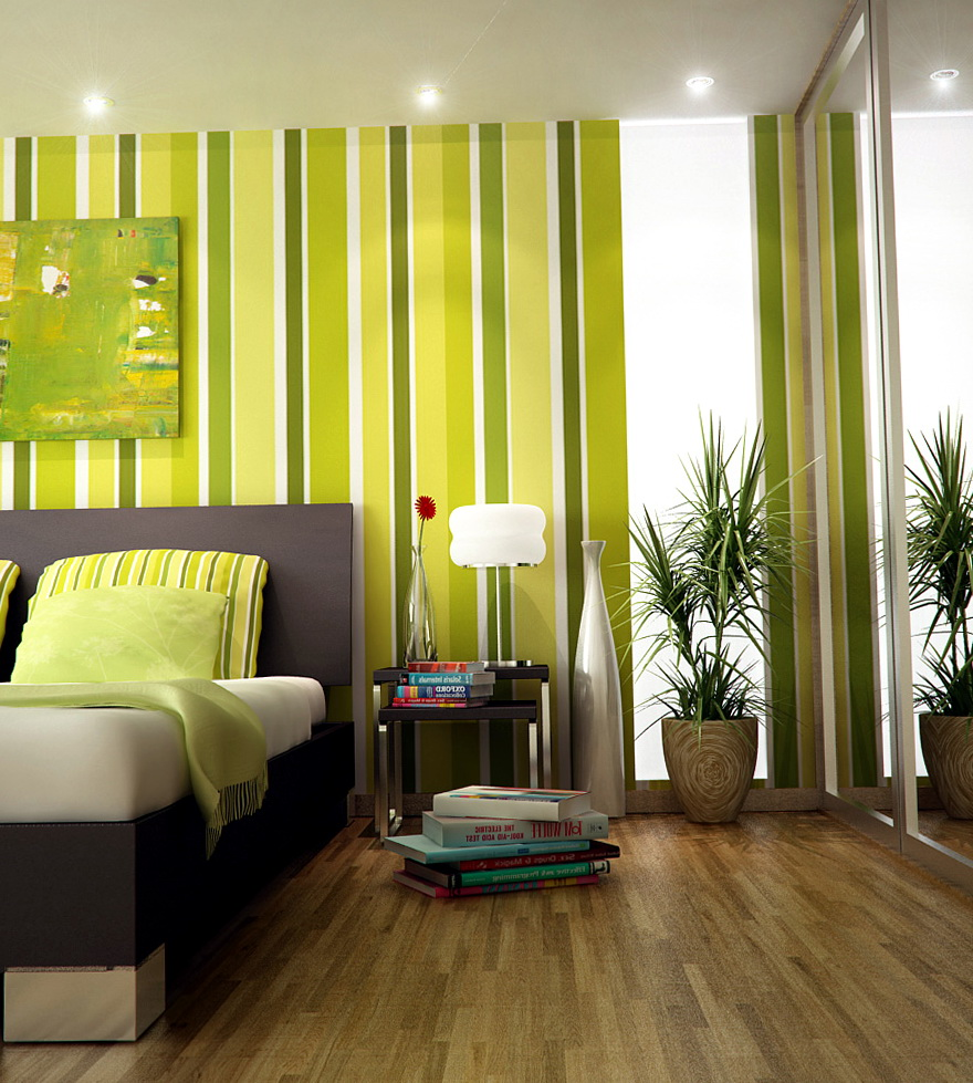 Bedroom Paint Ideas Stripes