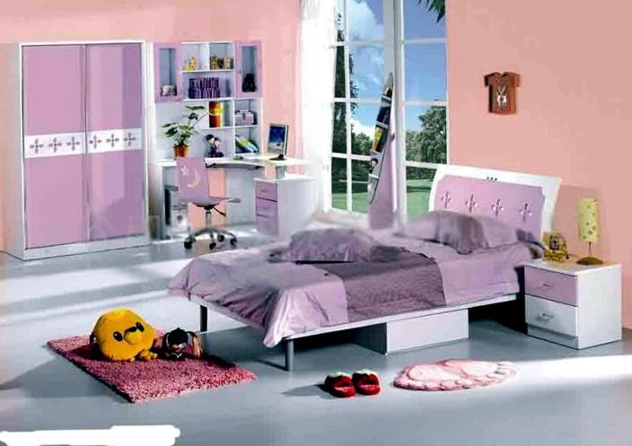 Bedroom Sets For Girls Purple
