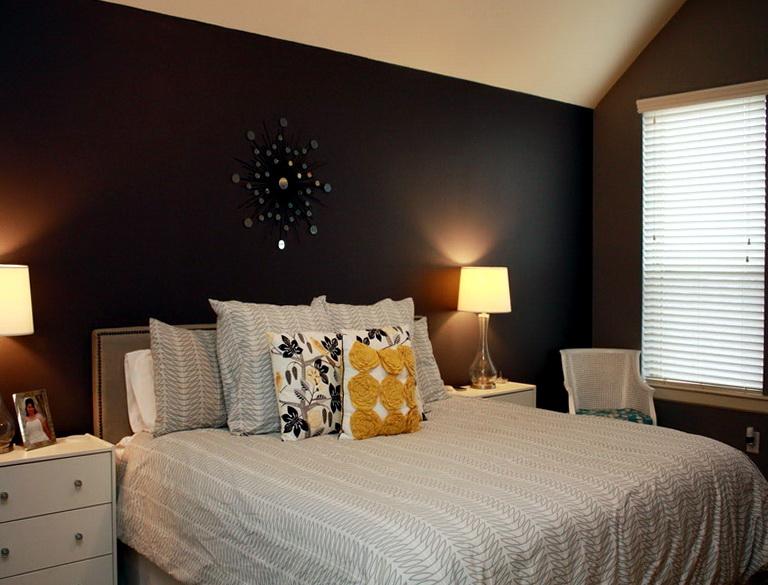Bedroom Wall Colors Brown