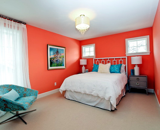 Bedroom Wall Colors Peach