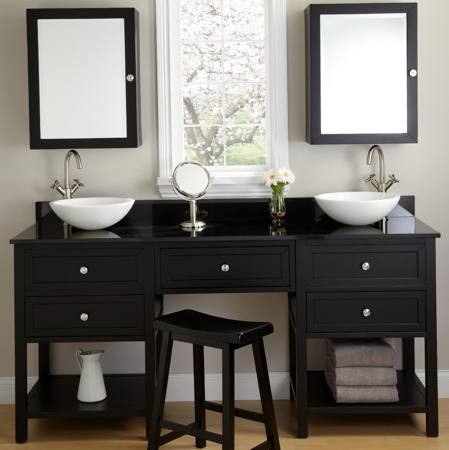 Black Bathroom Vanity Canada