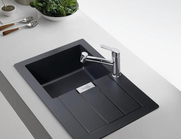 Black Kitchen Sink Faucets