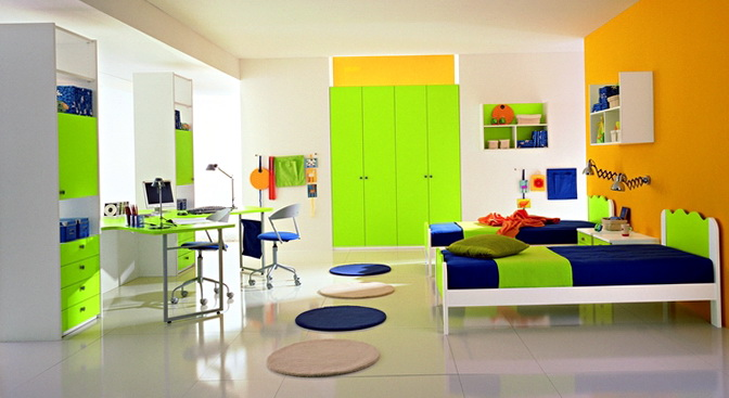 Boys Bedroom Ideas Green