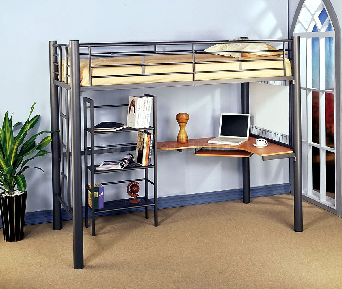 Bunk Beds With Desk Under