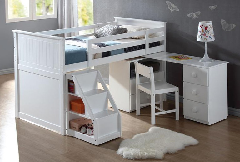 Bunk Beds With Storage And Desk