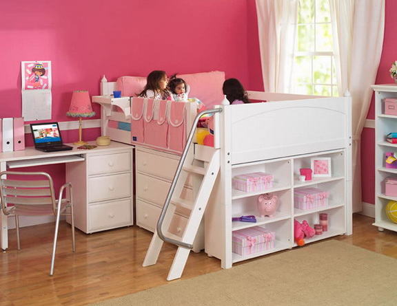 Bunk Beds With Storage For Girls