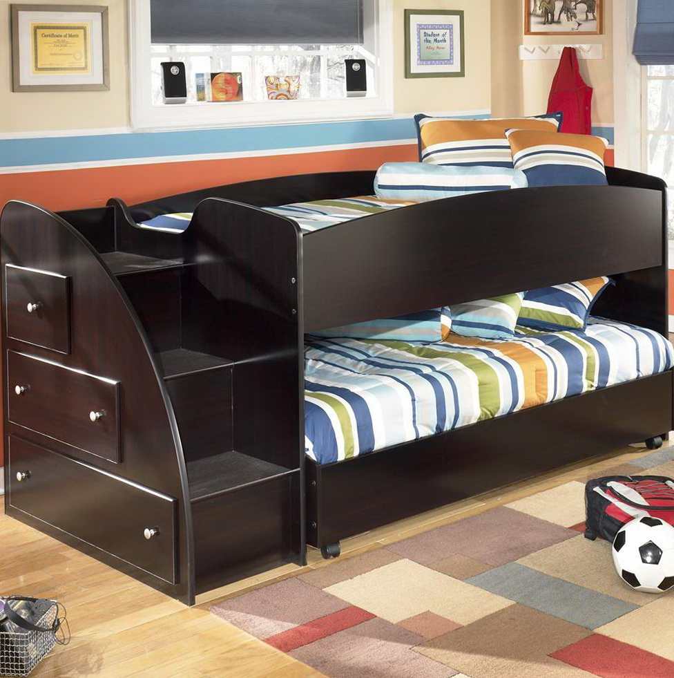 Bunk Beds With Storage Steps