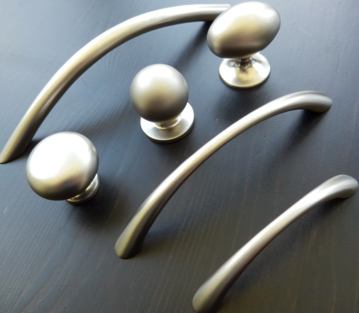 Cabinet Pulls And Knobs Brushed Nickel