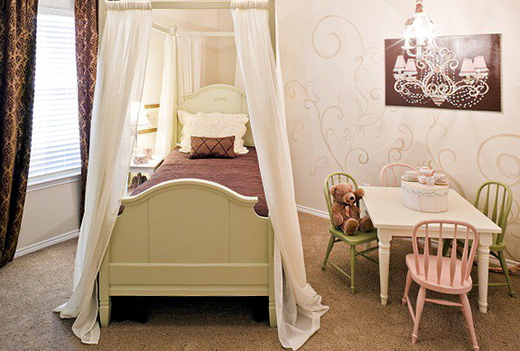 Canopy Bedroom Sets For Girls