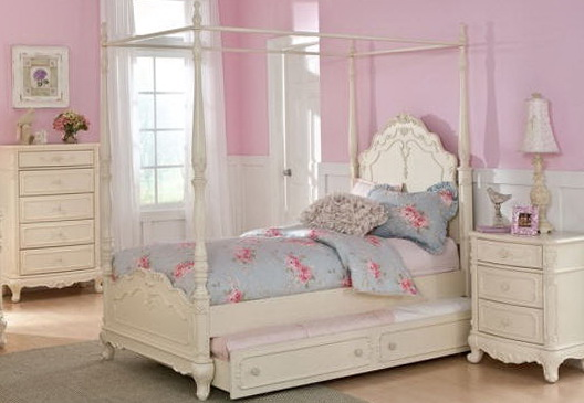 Canopy Beds For Girls Full Size