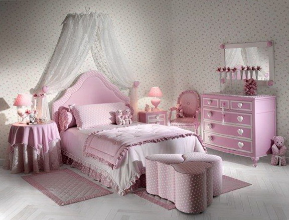 Canopy Beds For Girls Queen Size