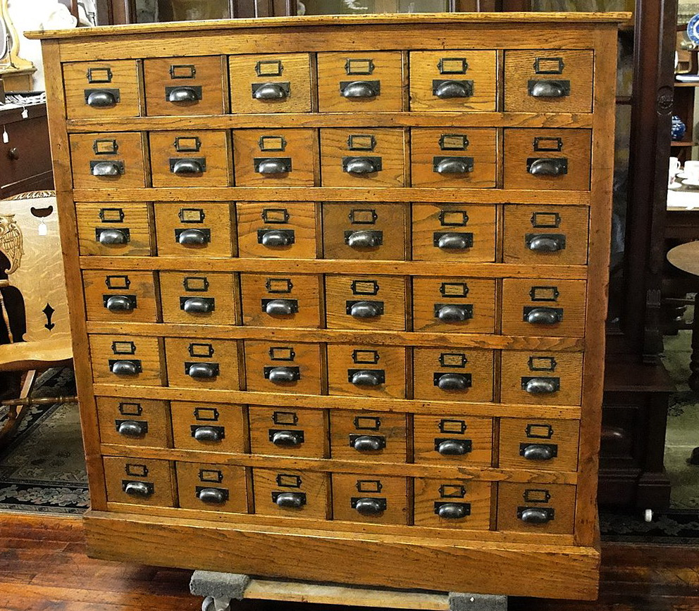 Card Catalog Cabinet Craigslist