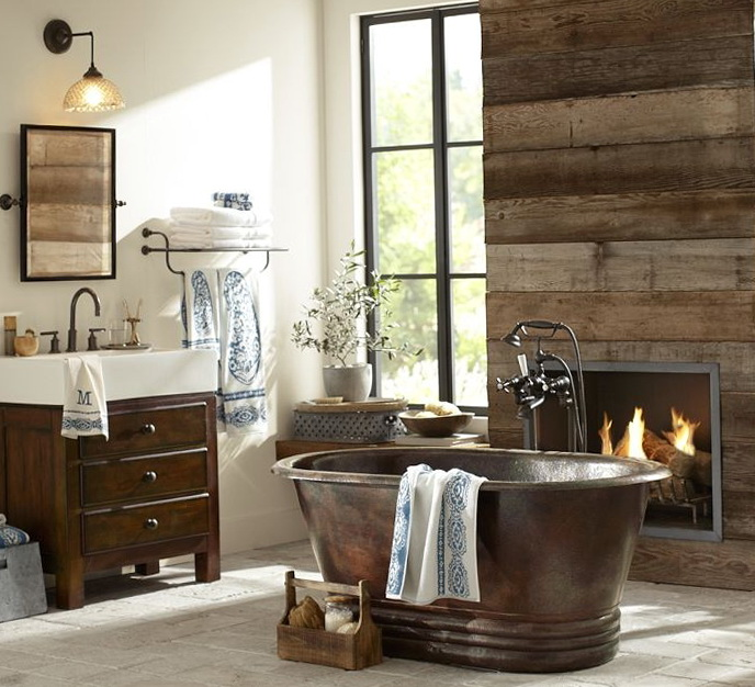 Cheap Rustic Bathroom Ideas