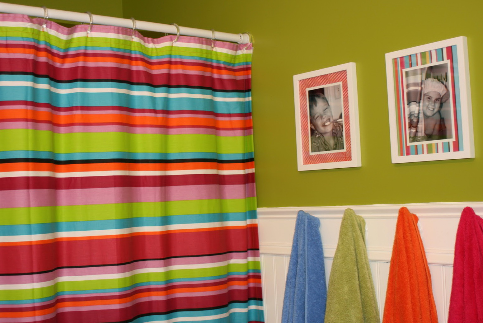 Children's Bathroom Shower Curtains