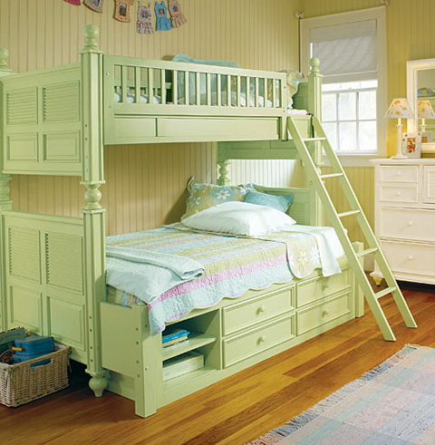 Childrens Bunk Beds With Storage