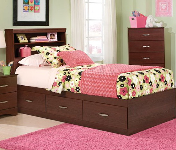 Childrens Twin Beds With Storage
