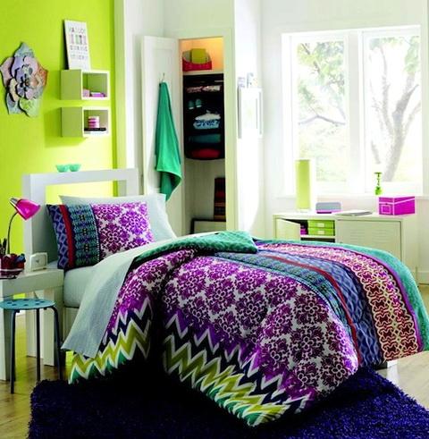 College Dorm Bedding Ideas