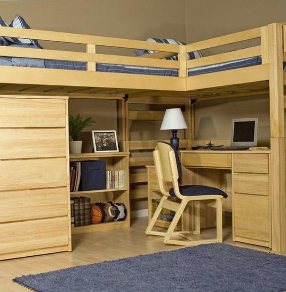 College Loft Beds Plans