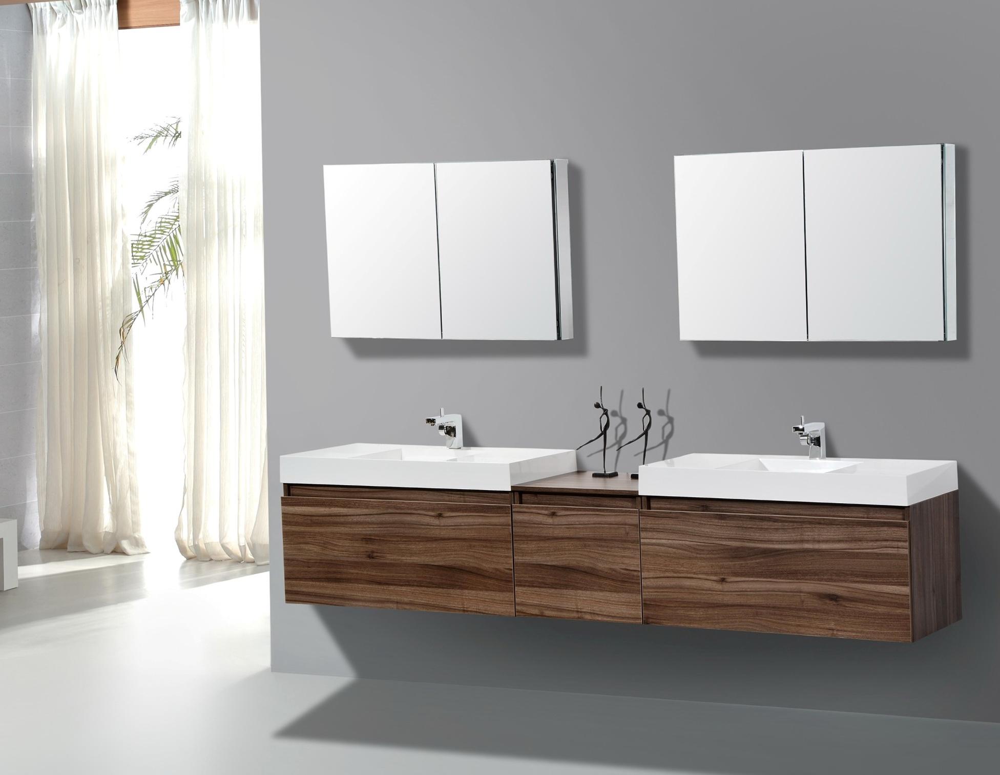 Contemporary Double Bathroom Vanities