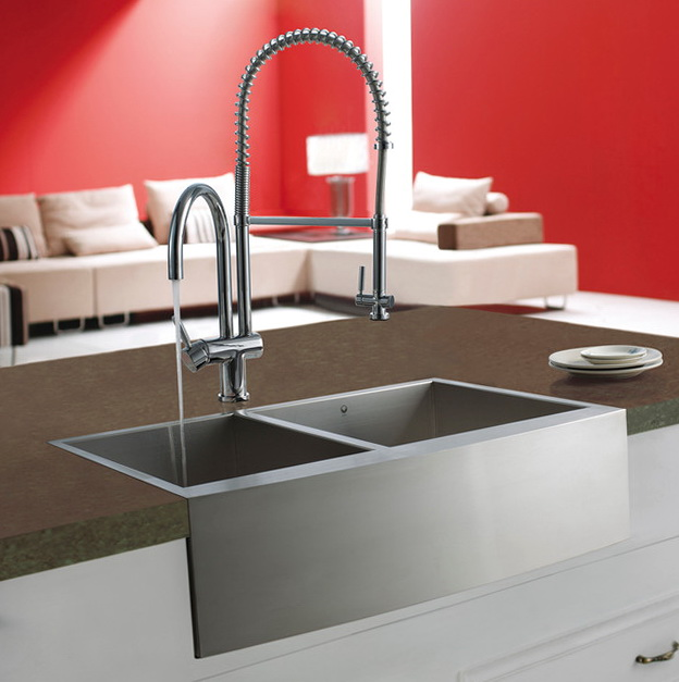Contemporary Stainless Steel Kitchen Sinks