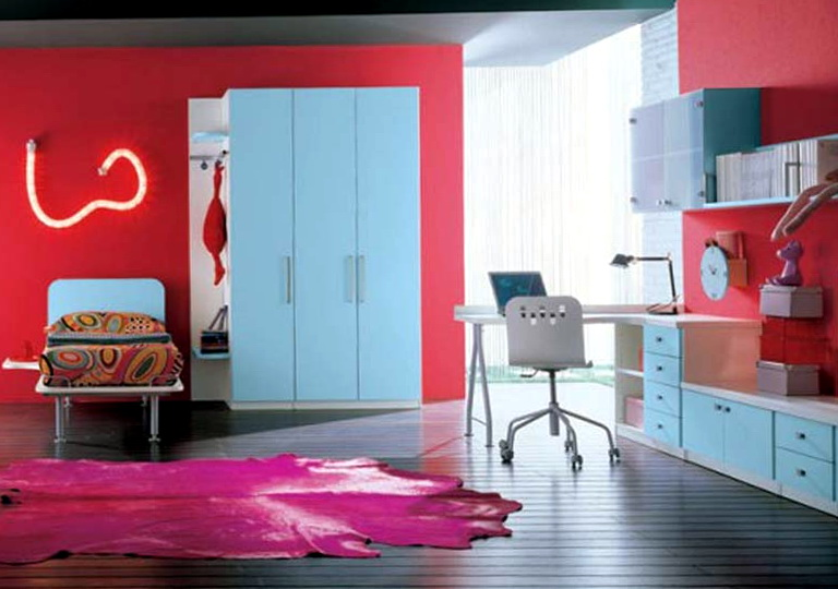 Cool Teenage Girl Bedrooms Ideas