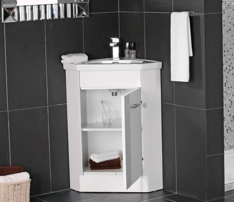 Corner Bathroom Sink Unit