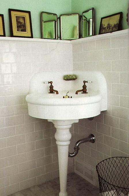 Corner Bathroom Sink With Shelf