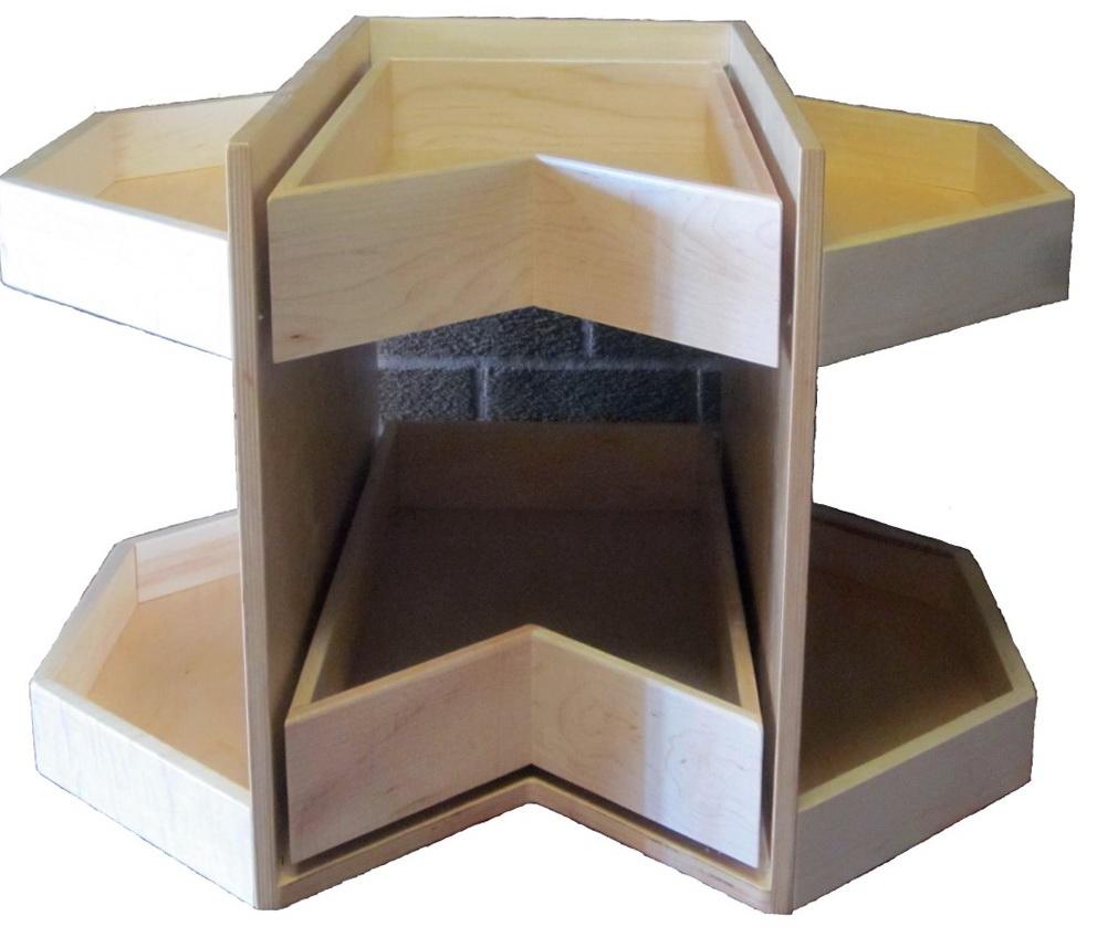 Corner Cabinet Storage Solutions