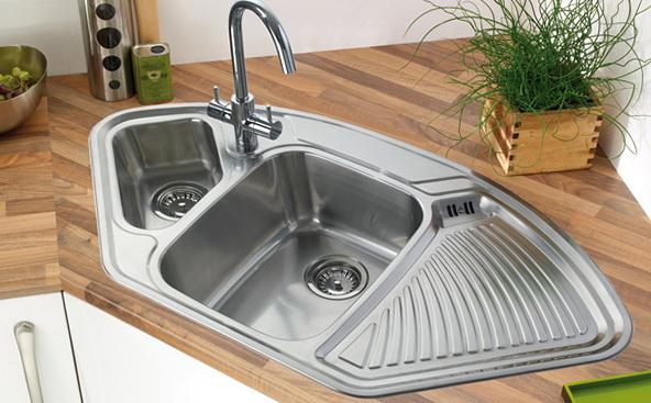 Corner Kitchen Sink Images