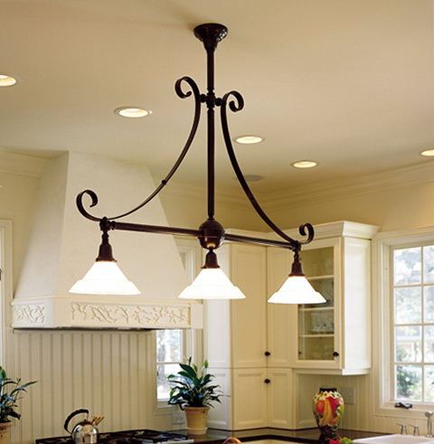 Country Kitchen Lighting Fixtures