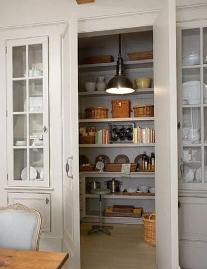 Country Kitchen Pantry Ideas