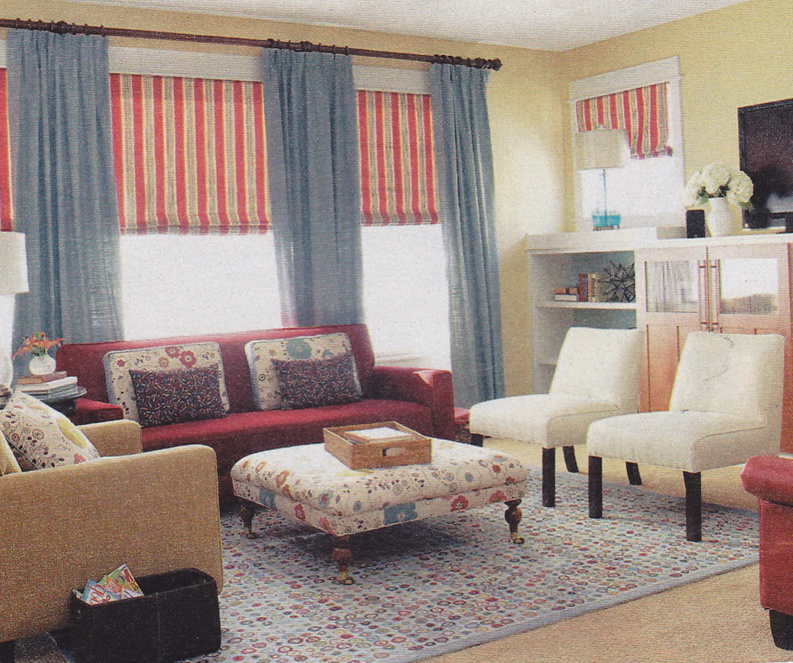 Country Valances For Living Room