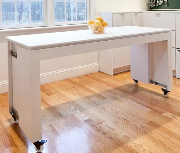 Custom Kitchen Islands On Wheels