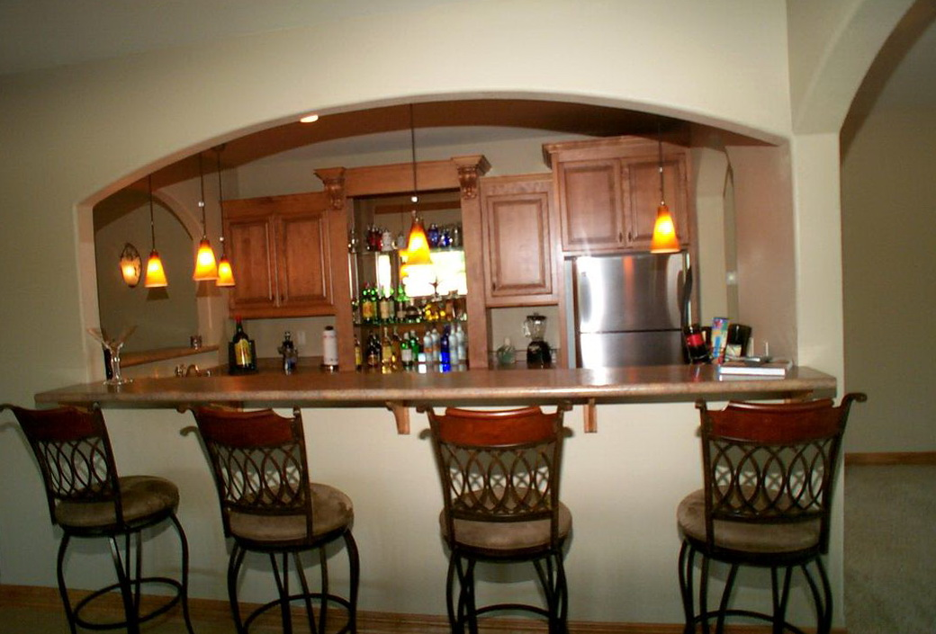 Custom Kitchen Islands With Breakfast Bar