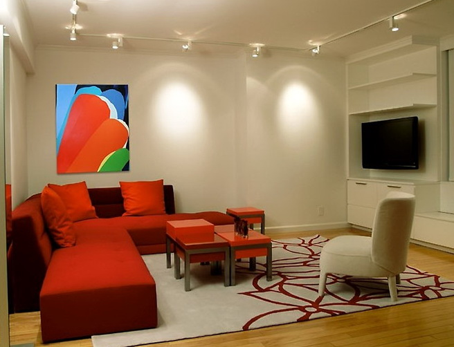 Decorating Ideas For Living Rooms With Red Furniture