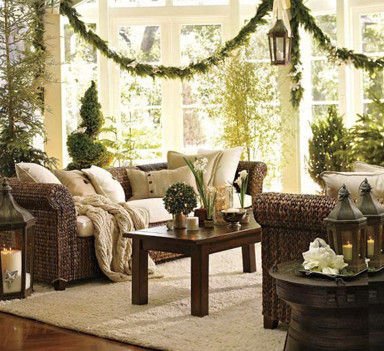 Decorating Living Room For Christmas Ideas